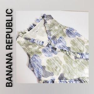 Banana Republic 100% Silk Tunic Size Small